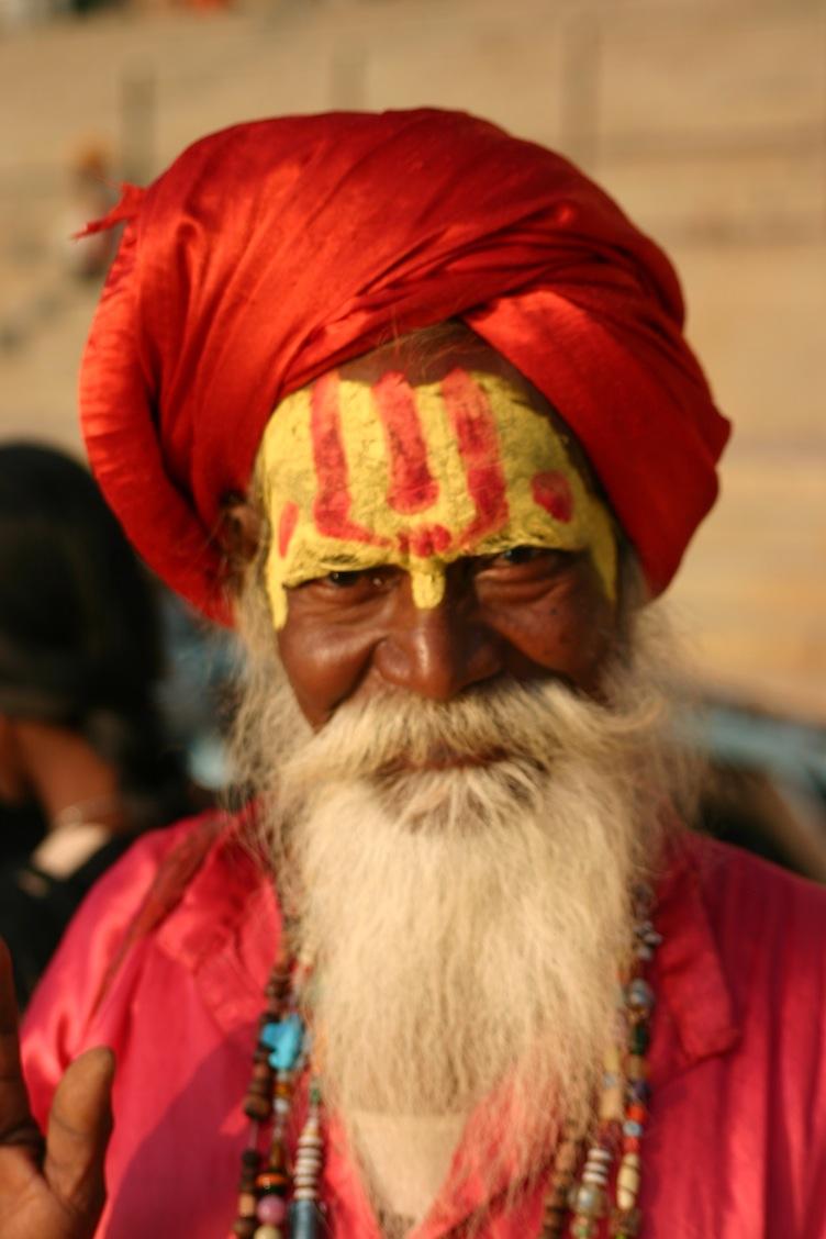 Old Man- Varanasi, India