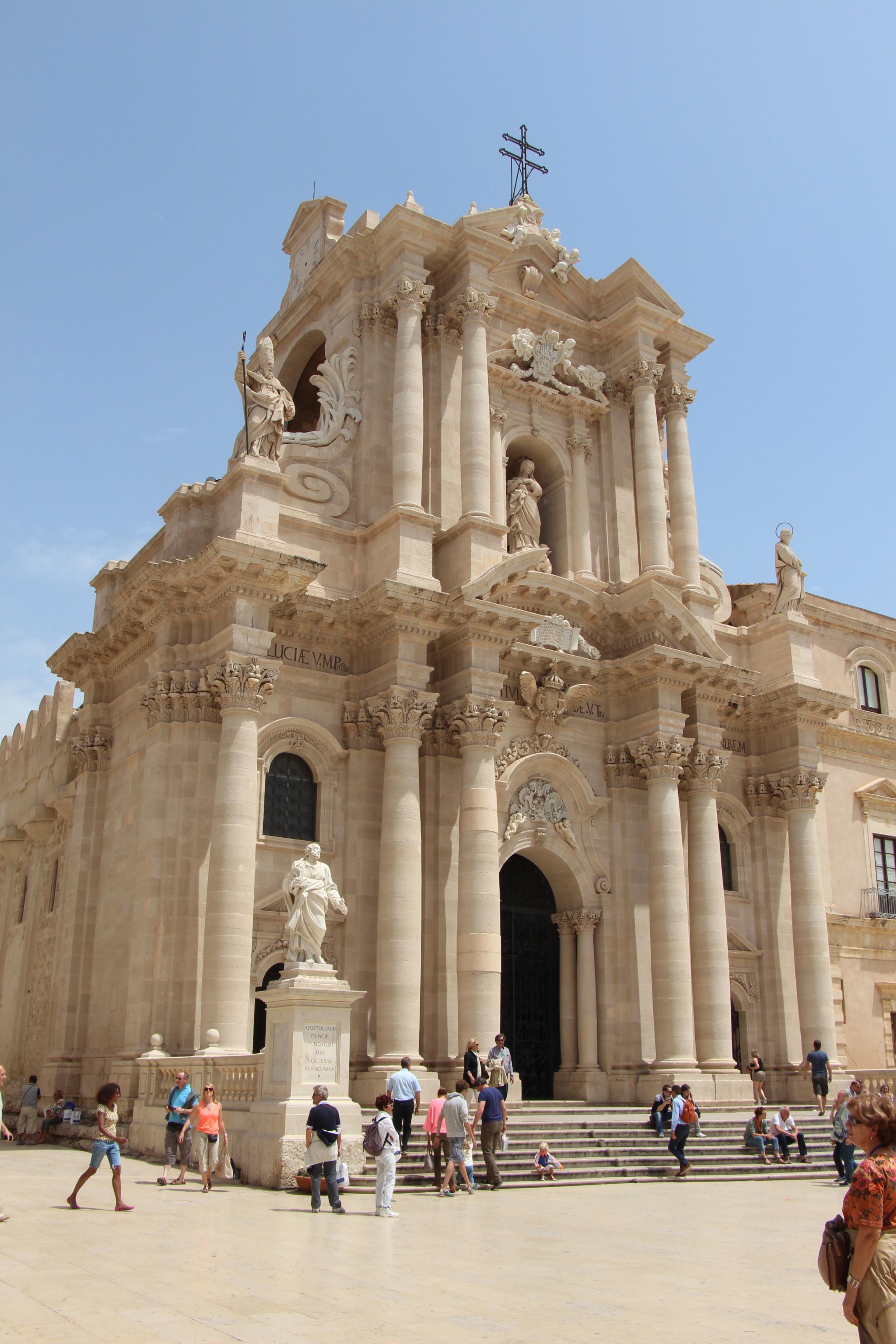 Duoma de Siracusa Sicily