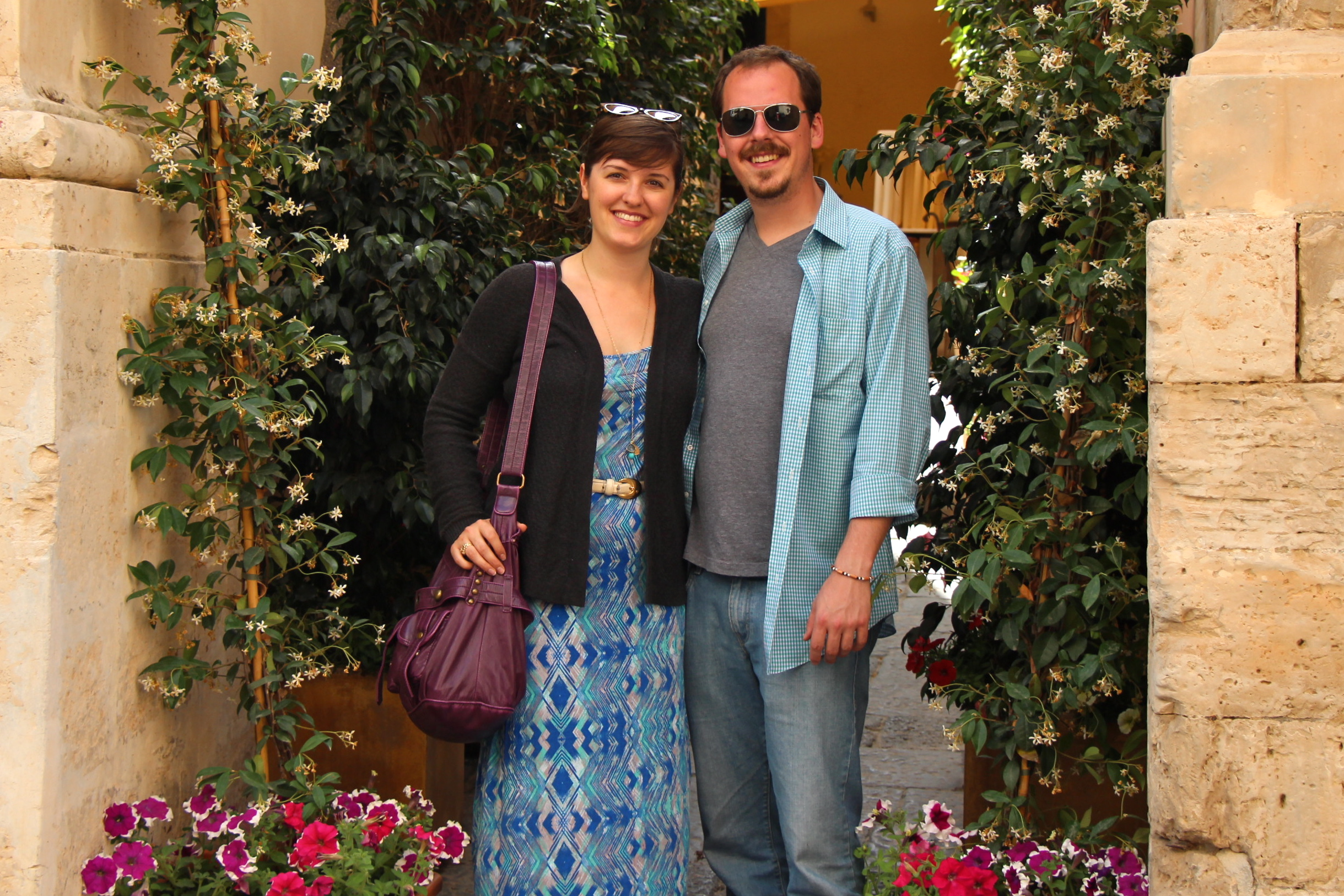 Megan + Sam in Sicily
