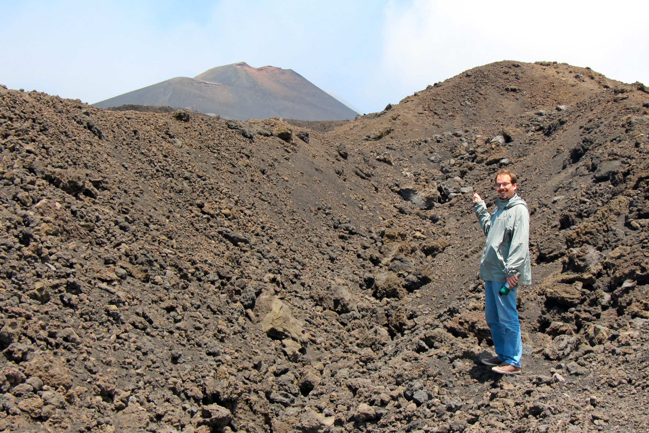 Sam Hiking Mount Etna Sicily