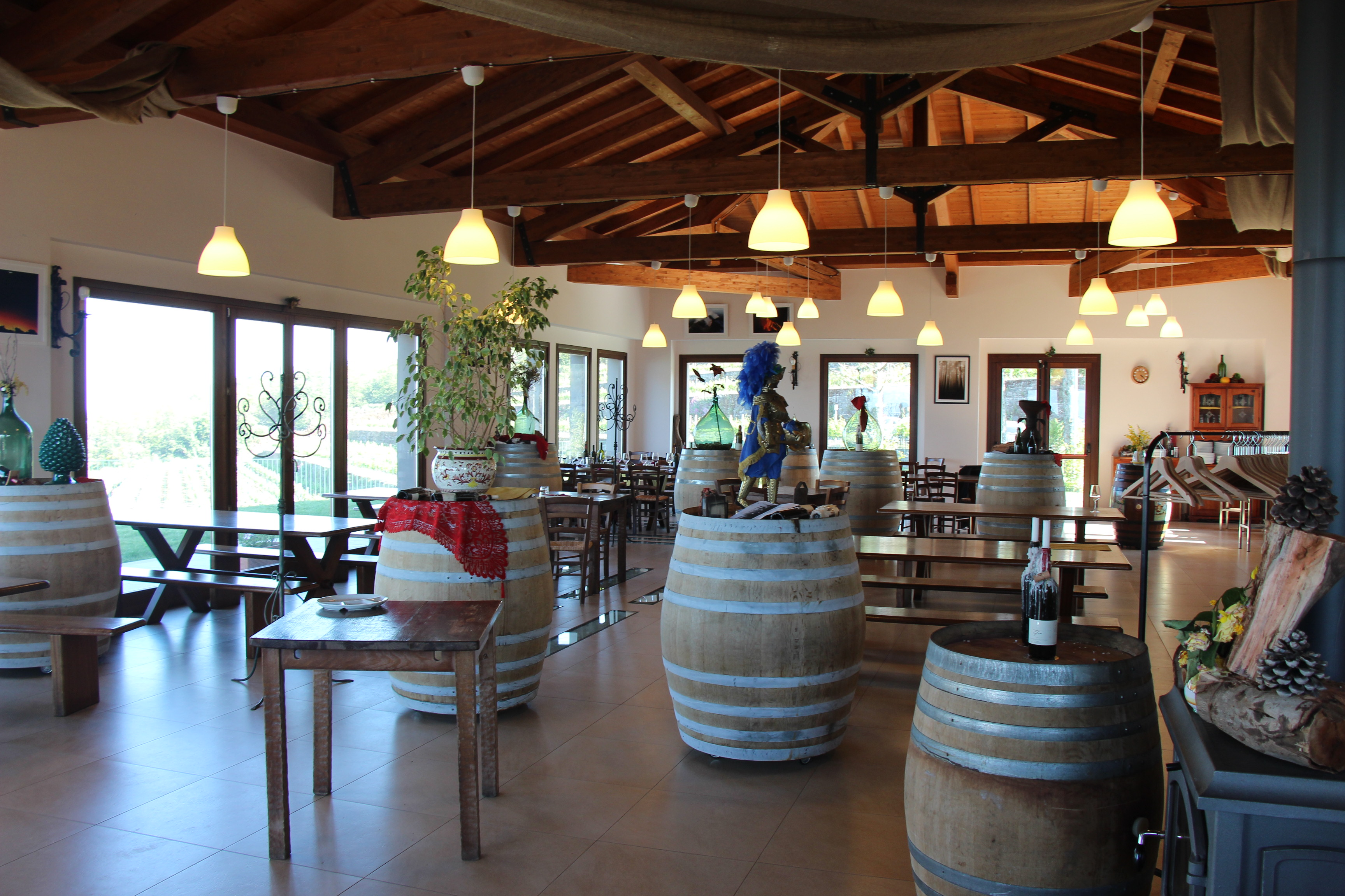 Gambino Winery in Sicily Italy