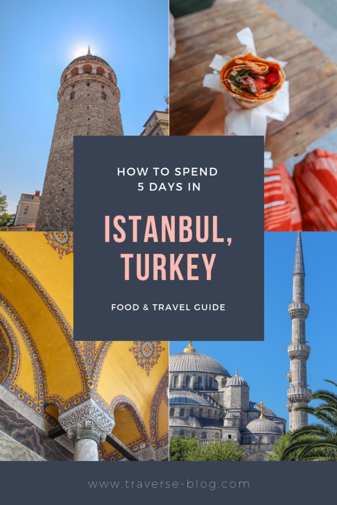 5 Days in Istanbul Pinterest Image