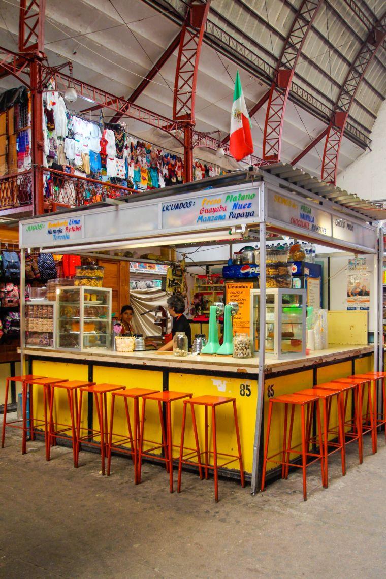 Mercado Hidalgo in Guanajuato Mexico
