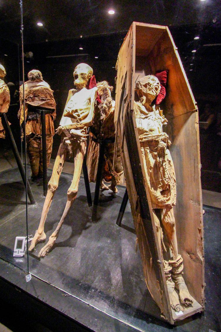 Mummy Museum in Guanajuato Mexico