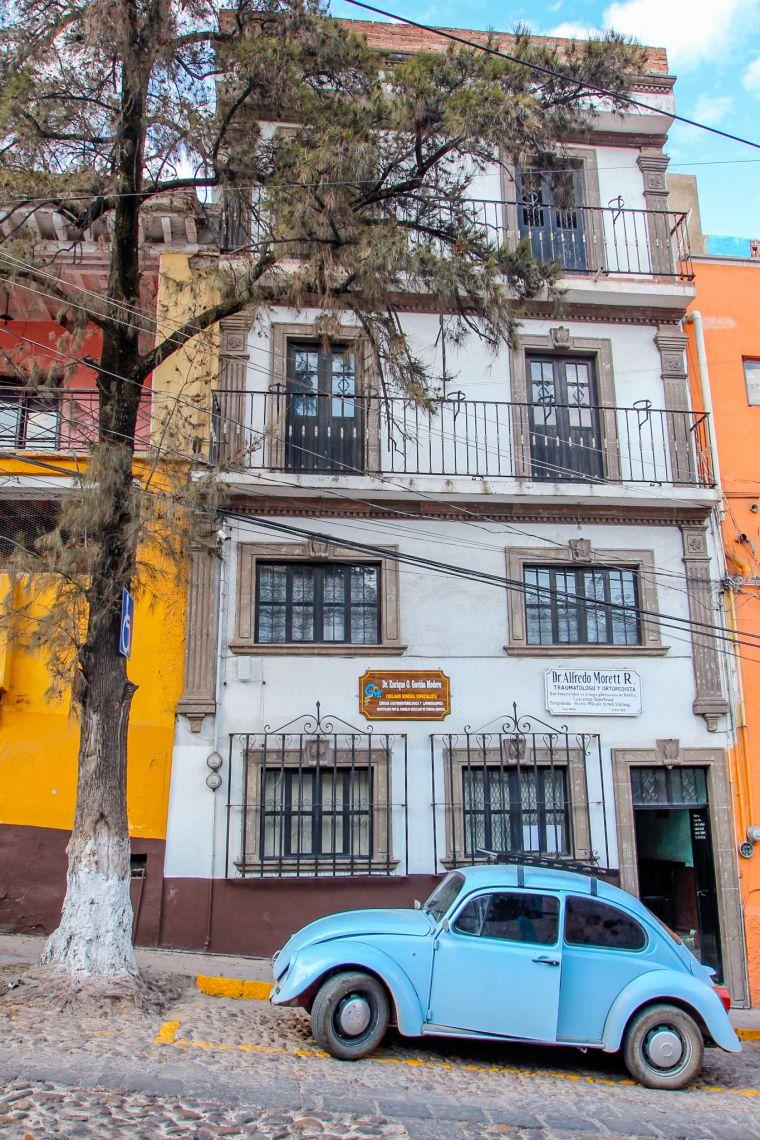 Street Scenery in Guanajuato Mexico