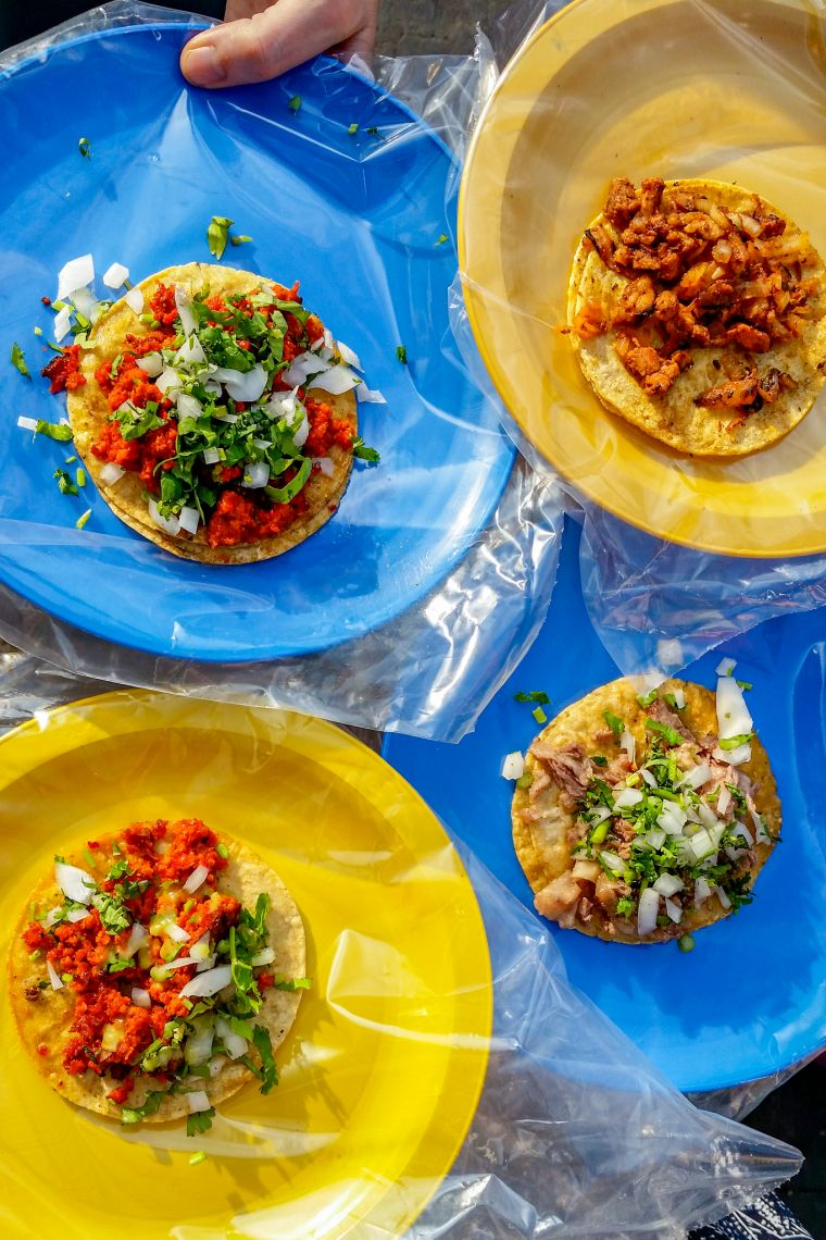 Street Tacos in Guanajuato Mexico