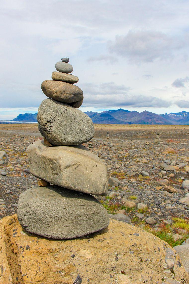 Iceland Mountain Roadtrip Scenery
