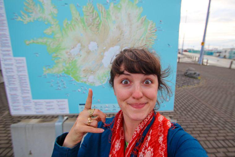 Reykavik Iceland City Scenery