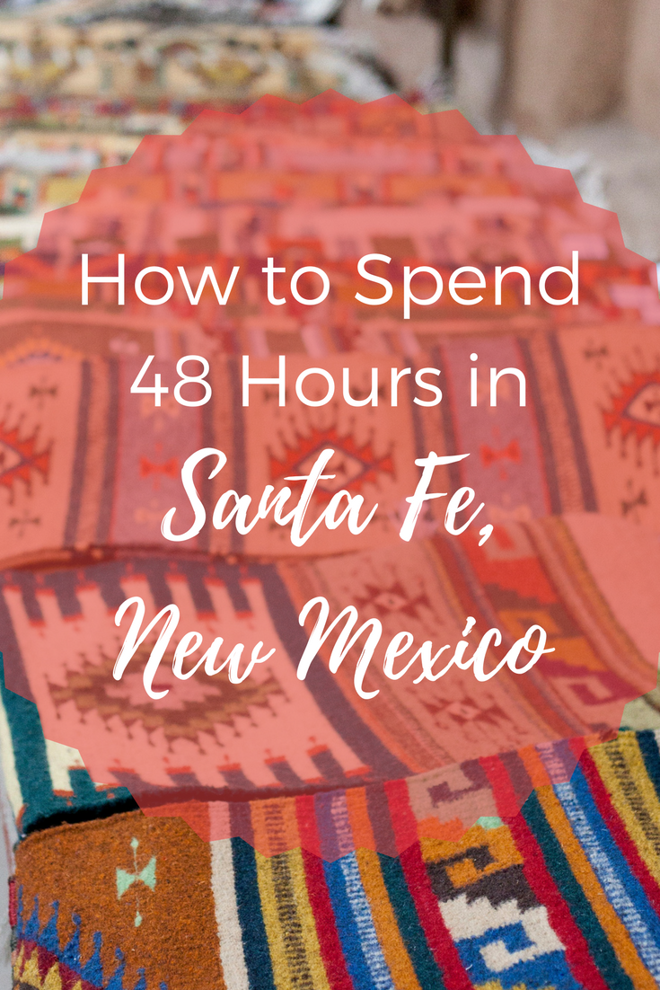 Santa Fe is a desert haven for art, wellness and natural beauty, making it a great destination for a getaway weekend. Here is my suggested itinerary for 2 days in Santa Fe, New Mexico.