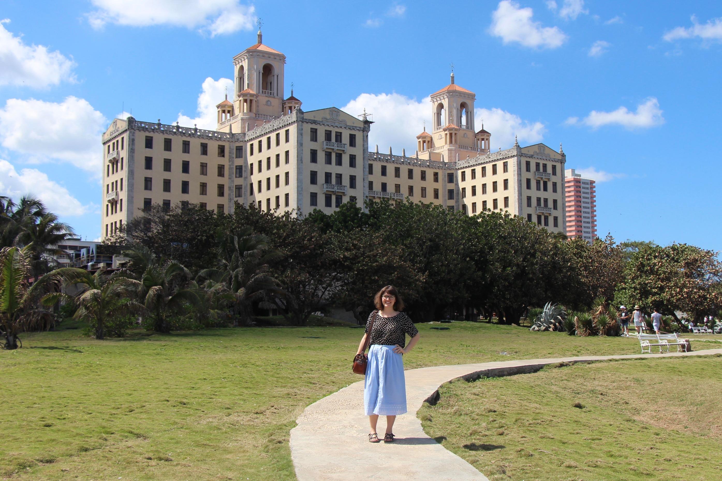 Hotel Nacional in Havana Cuba