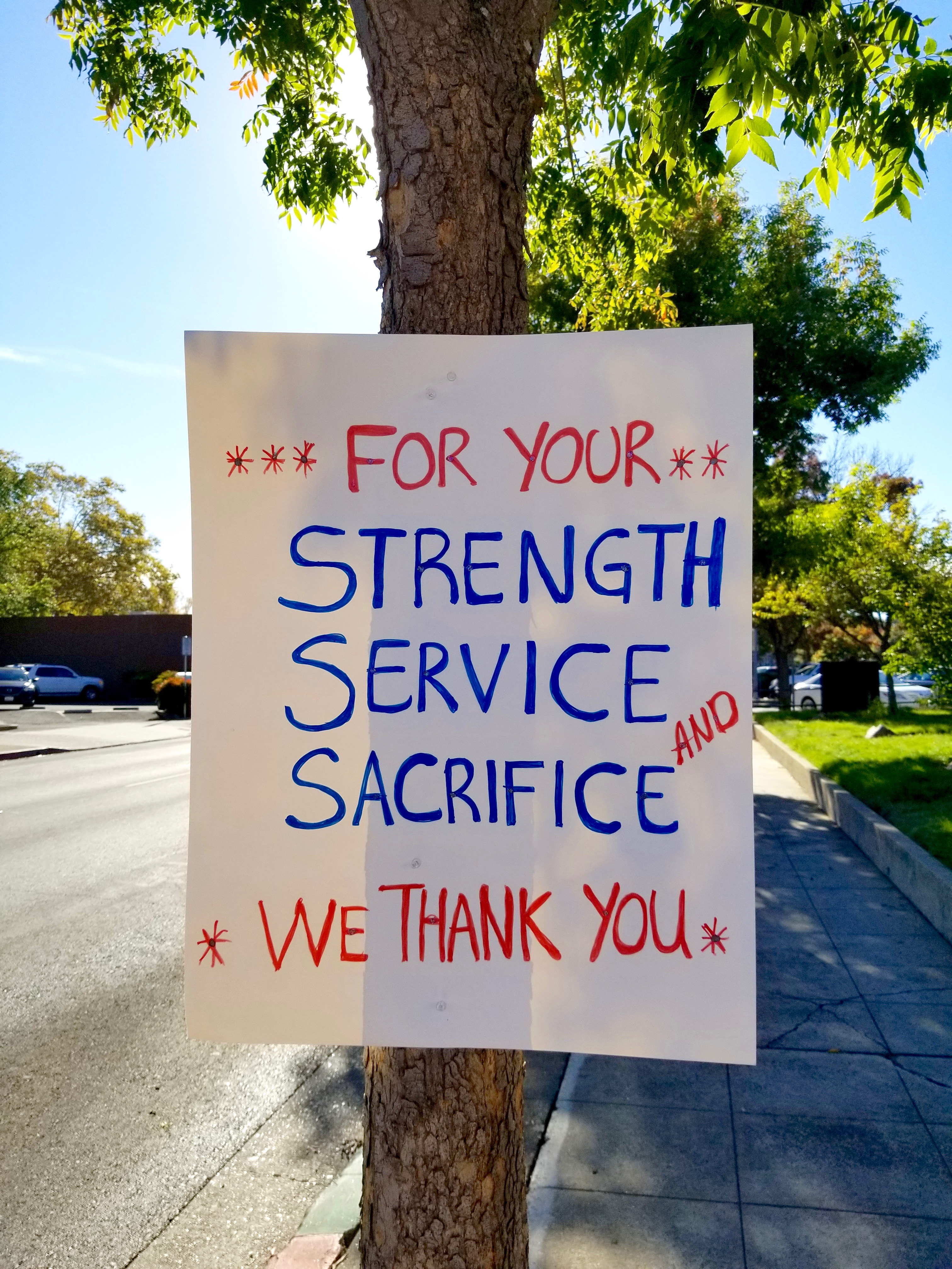 First Responders Recovery Sign Napa California