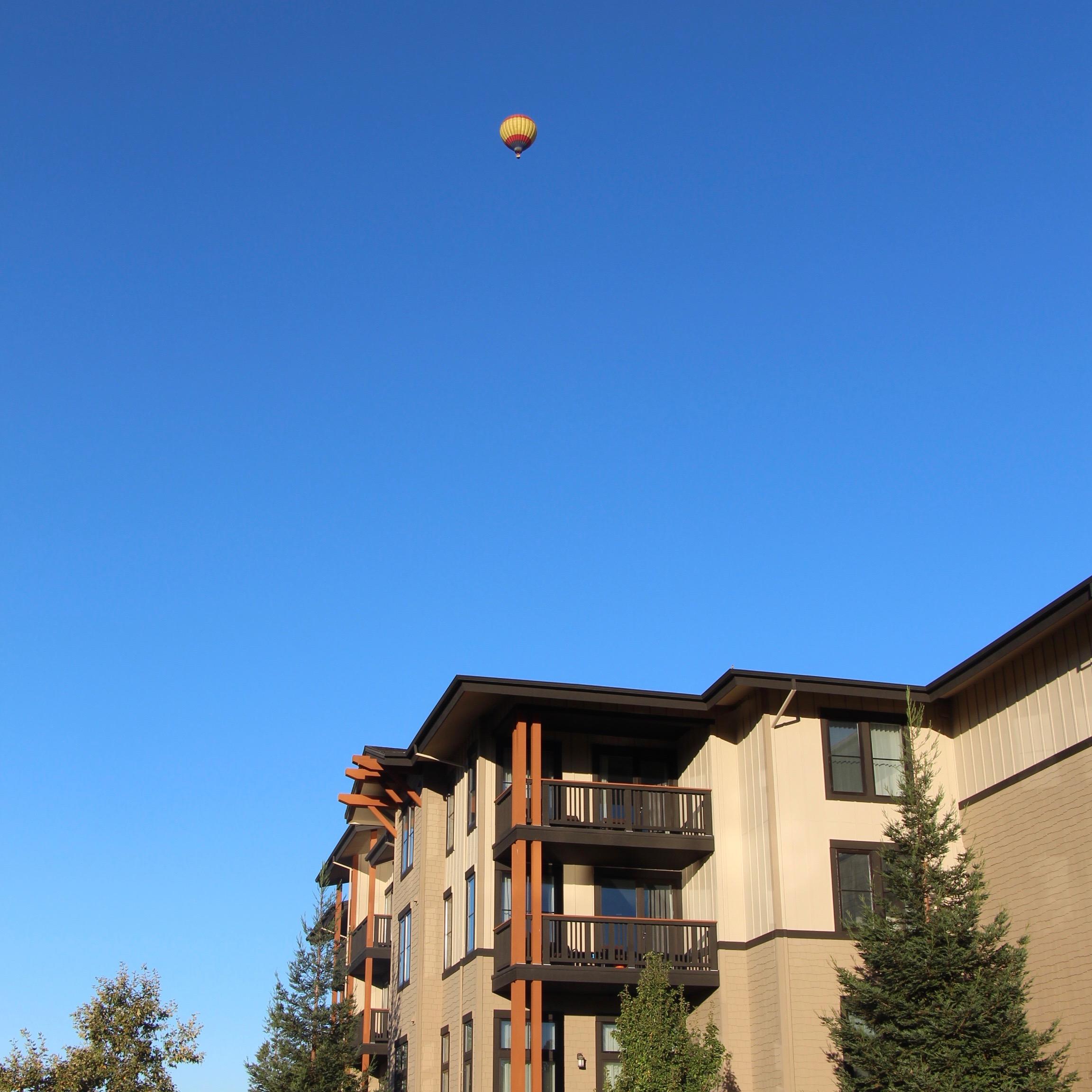 Hot Air Balloon Napa California