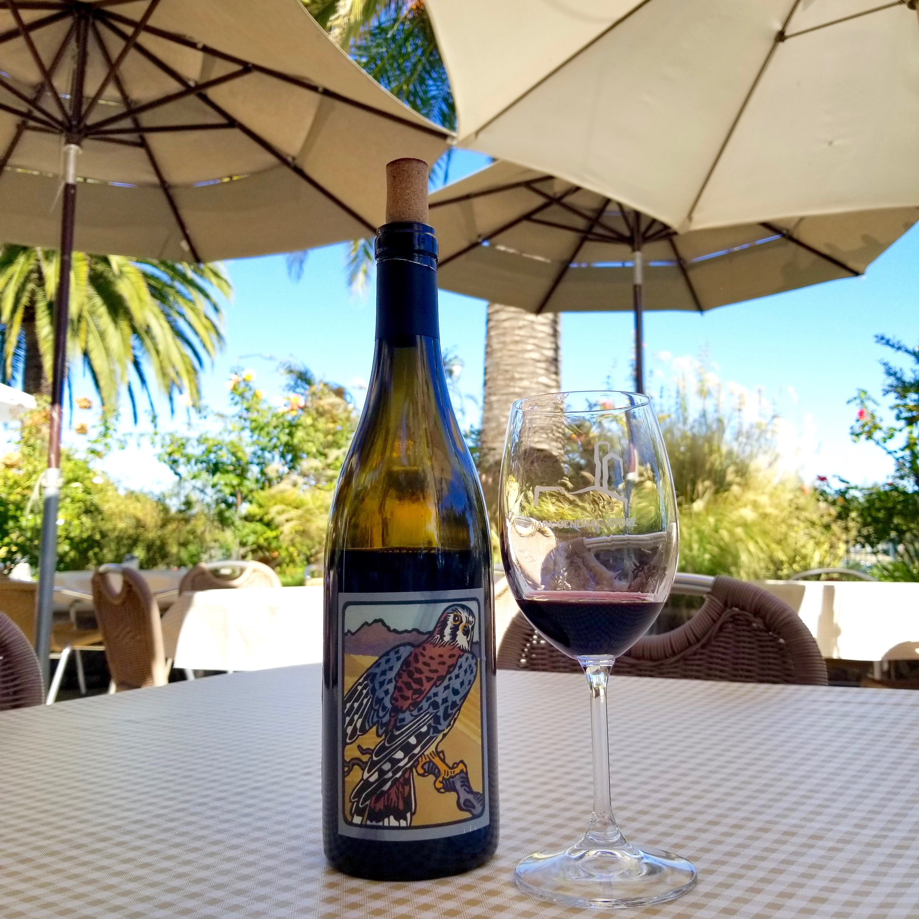 Wildlife Wine at Napa California General Store