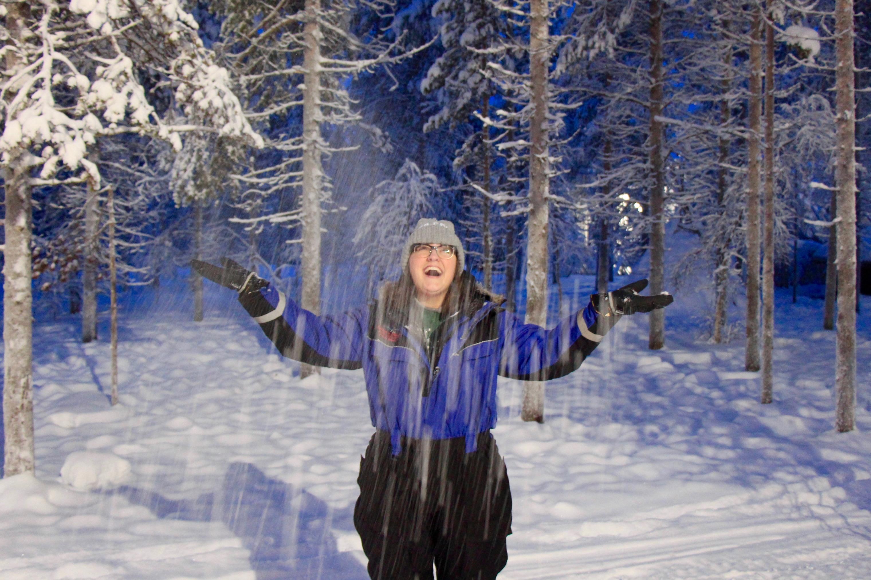 snowy lapland finland traverse blog