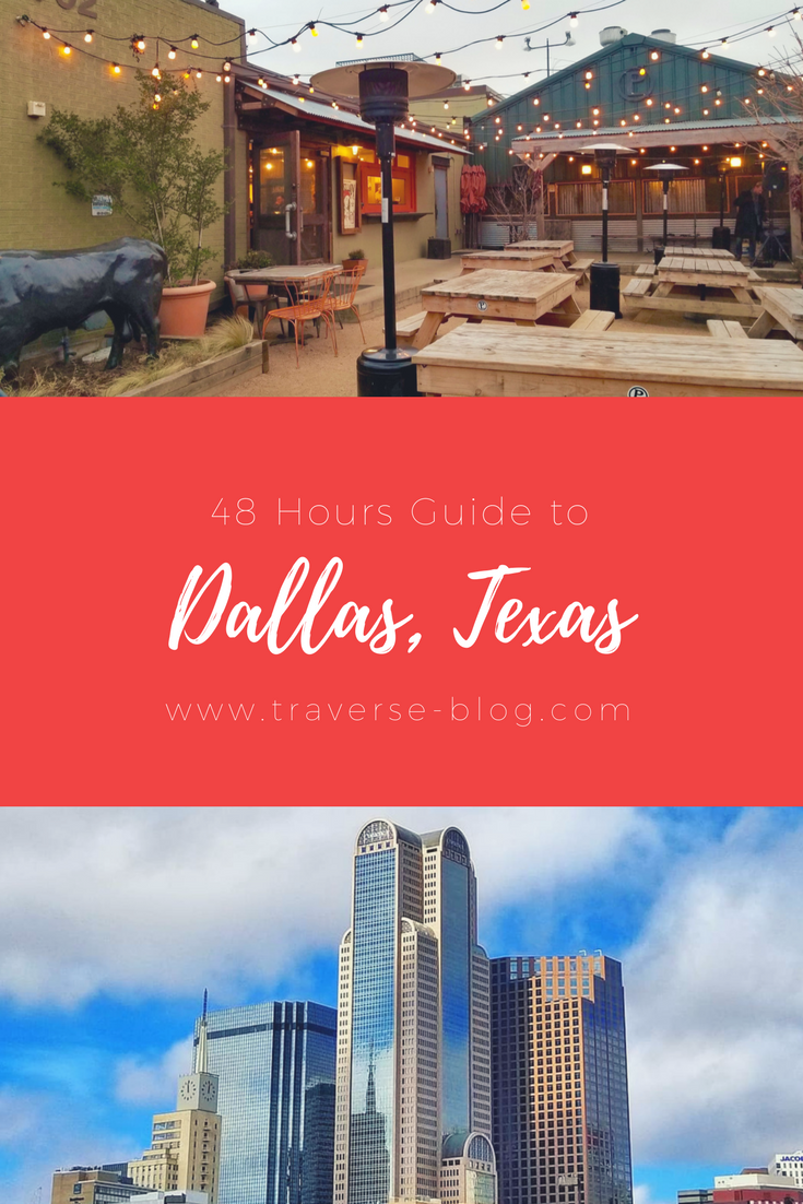 Although Dallas doesn't have quite the travel reputation as other cities in Texas, it is no less impressive! It is an under-the-radar destination with a vibrant arts culture, an up-and-coming culinary scene and plenty of history to fill a 48 hour itinerary. With my suggestions, you'll have the best time in Dallas, Texas!