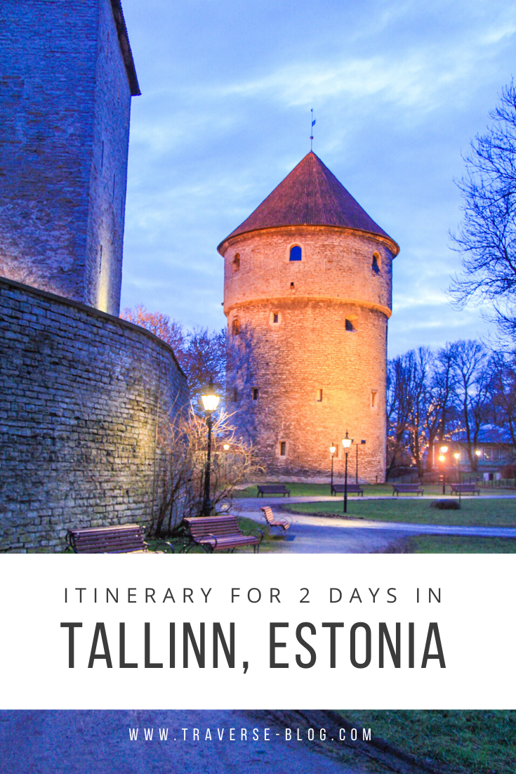 Tallinn 2 Day Itinerary Pinterest Image