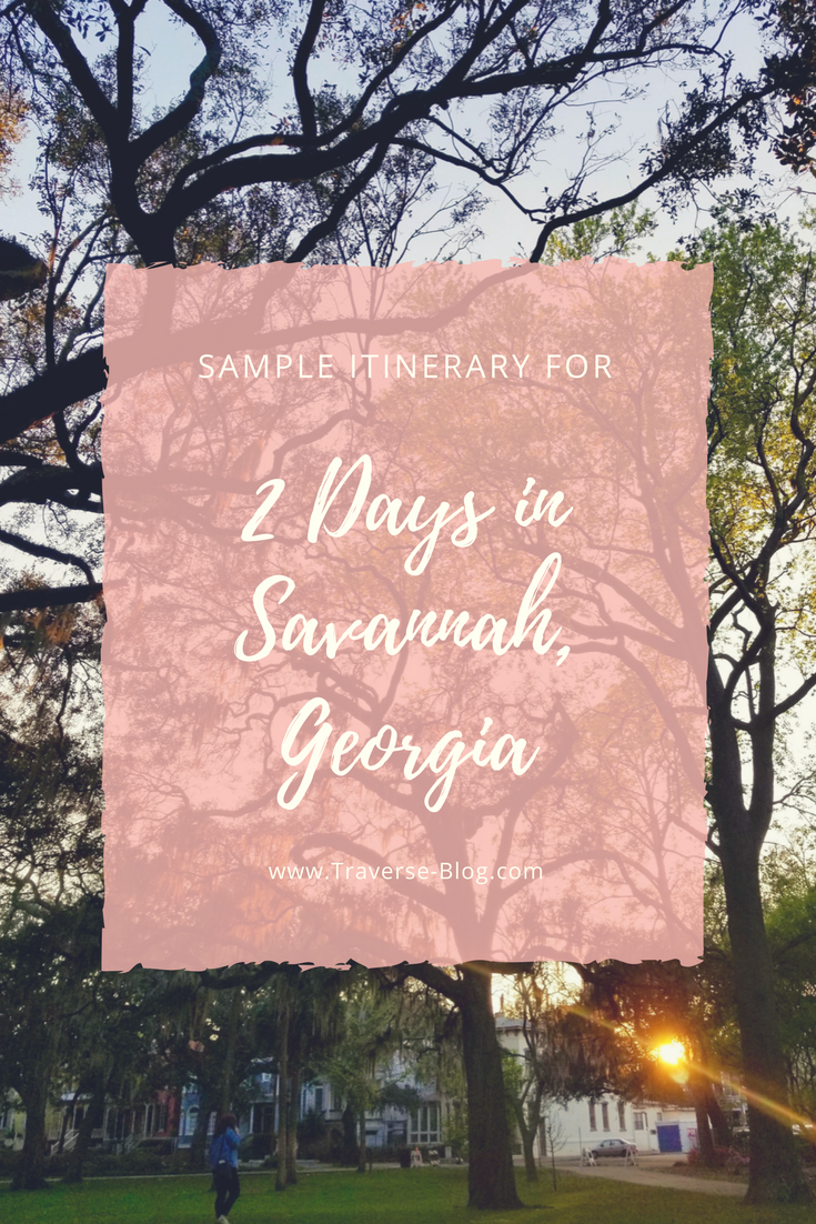 If you're looking for a perfect long-weekend destination for any occasion, Savannah is your place! This southern city is appropriate for families, bachelorette parties or a romantic getaway, thanks to it's natural beauty, interesting activities and friendly local vibe. Here is my ideal itinerary and complete guide for spending 2 days in Savannah, Georgia!