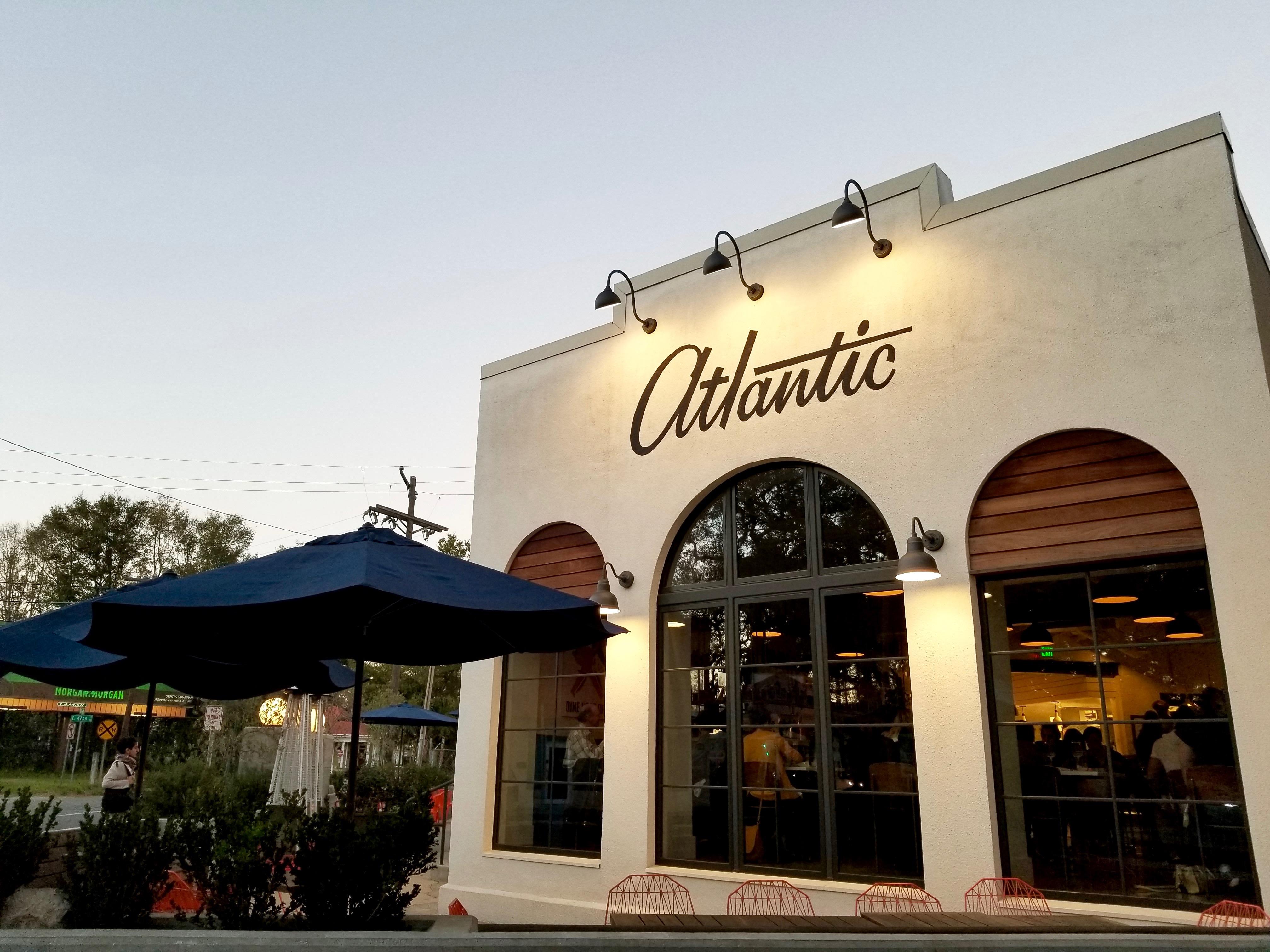 the atlantic restaurant savannah