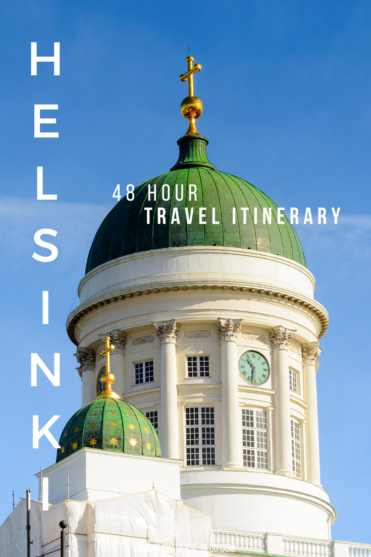 48 Hours in Helsinki Pinterest Image