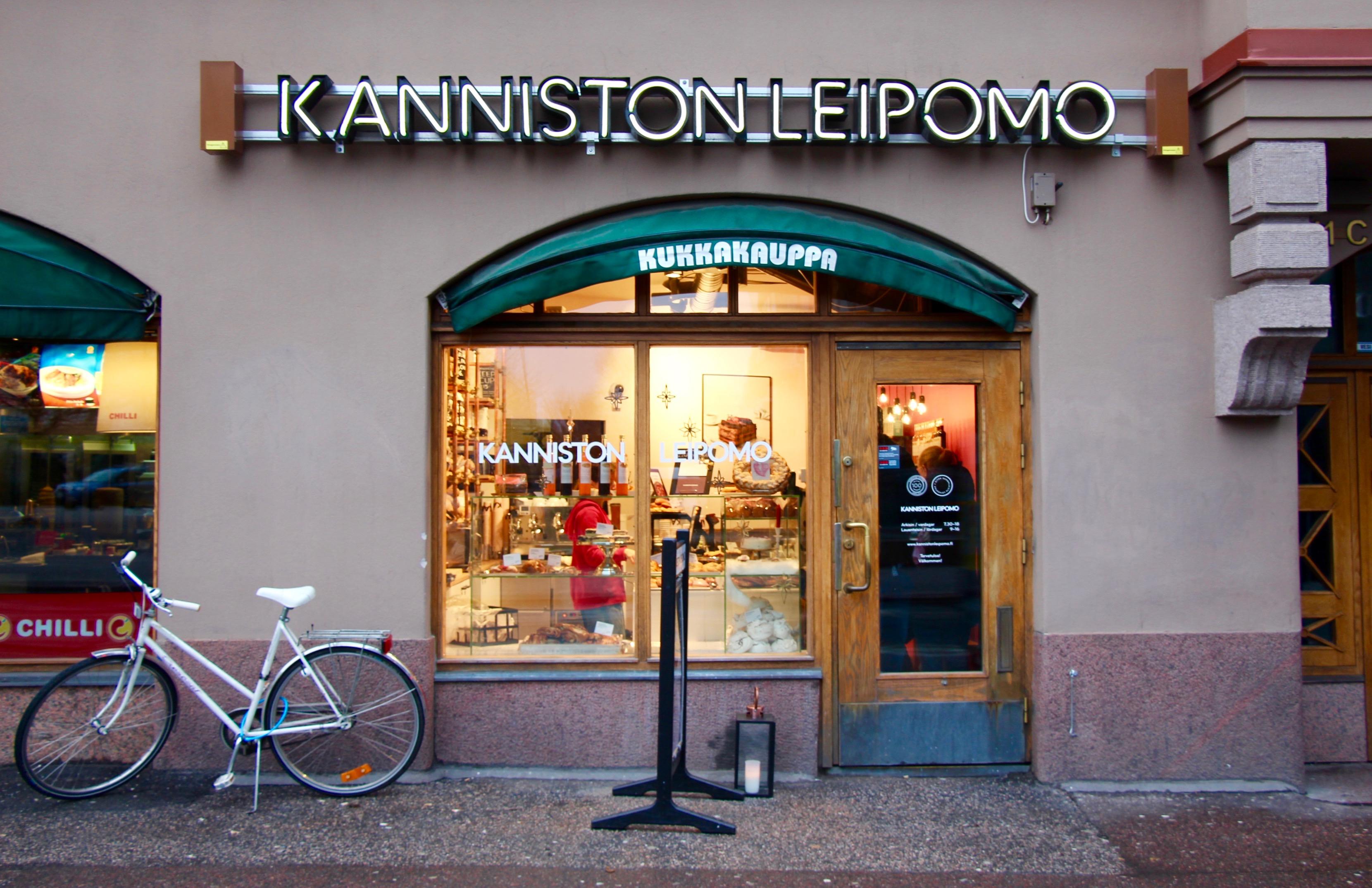 Finnish Bakery Helsinki Finland