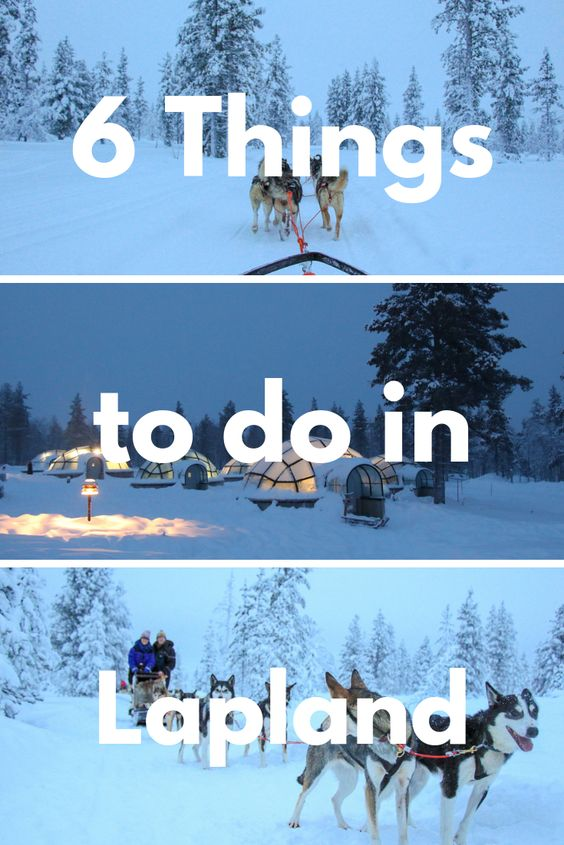 6 winter lapland activities pinterest image 1