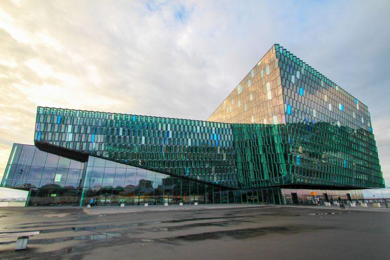 Reykavik Iceland Harpa Concert Music Hall