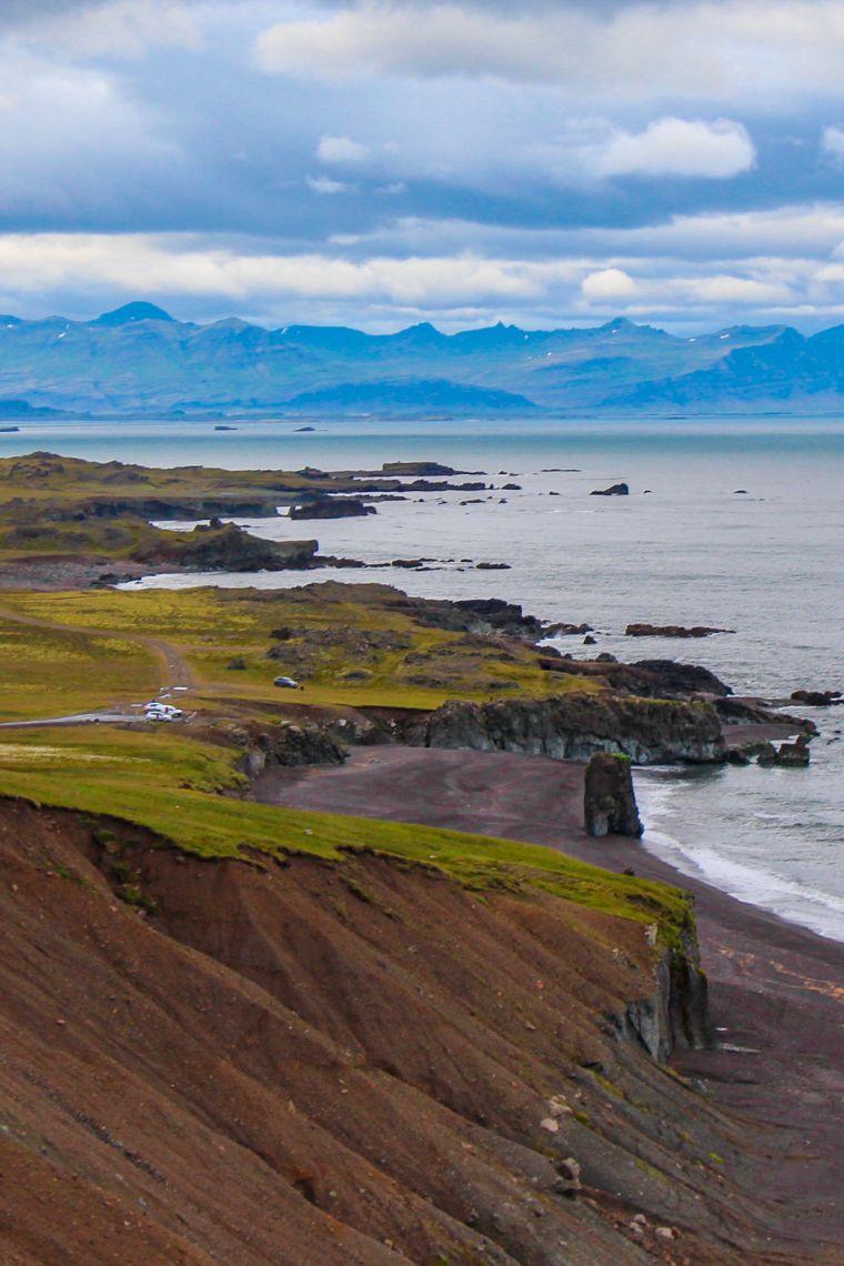 Western Fjords Iceland Mountain Roadtrip Scenery