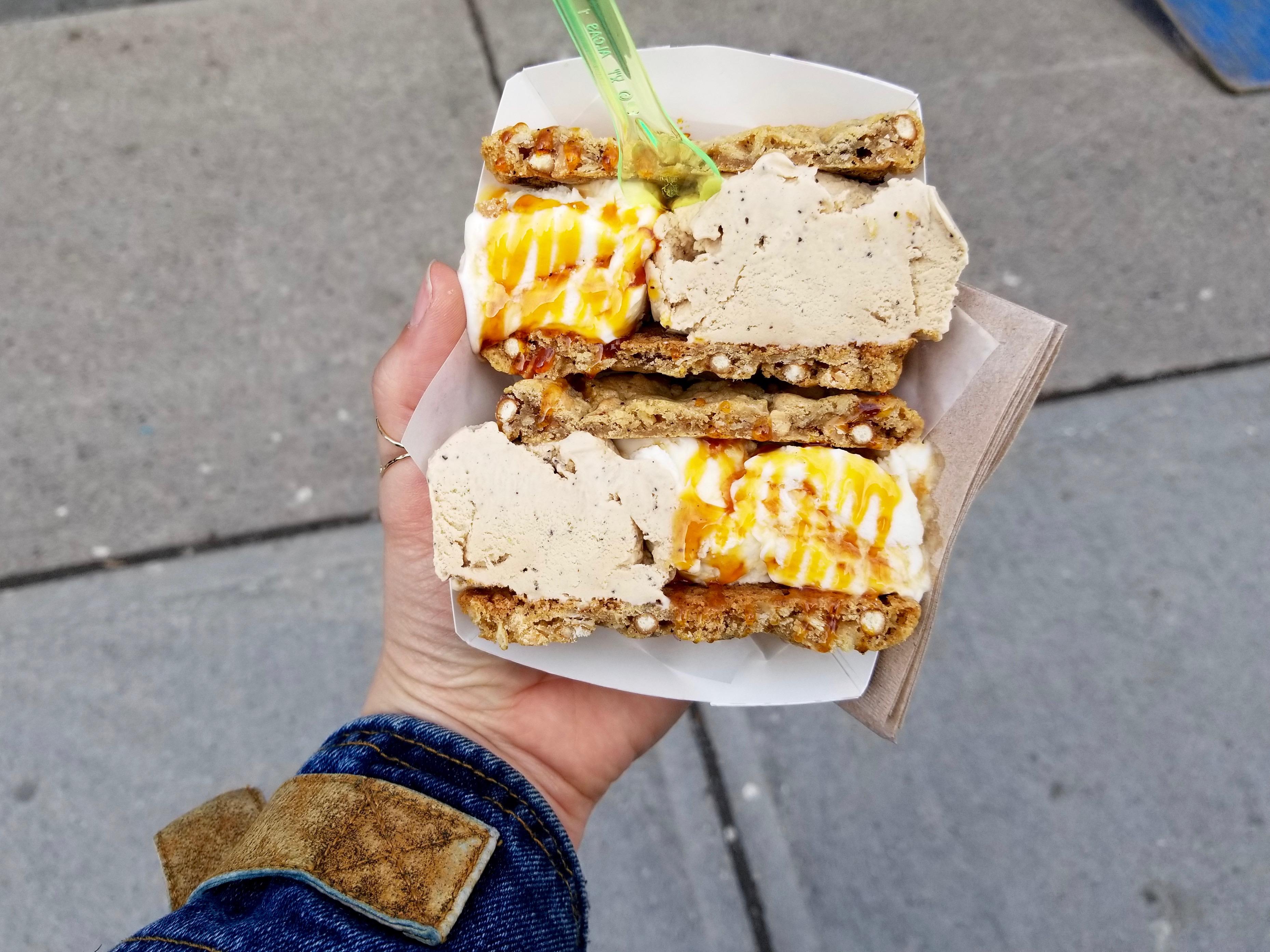 BangBang Ice Cream Sandwich Toronto Ontario Canada
