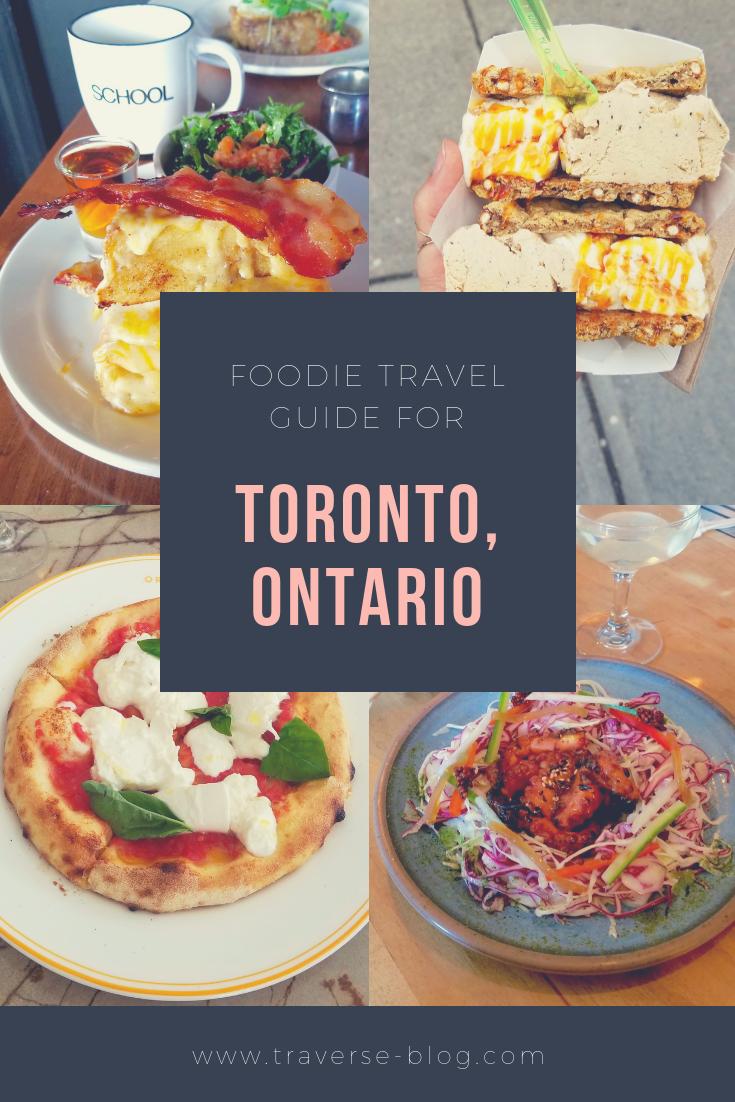 Toronto Ontario Food Pinterest Guide