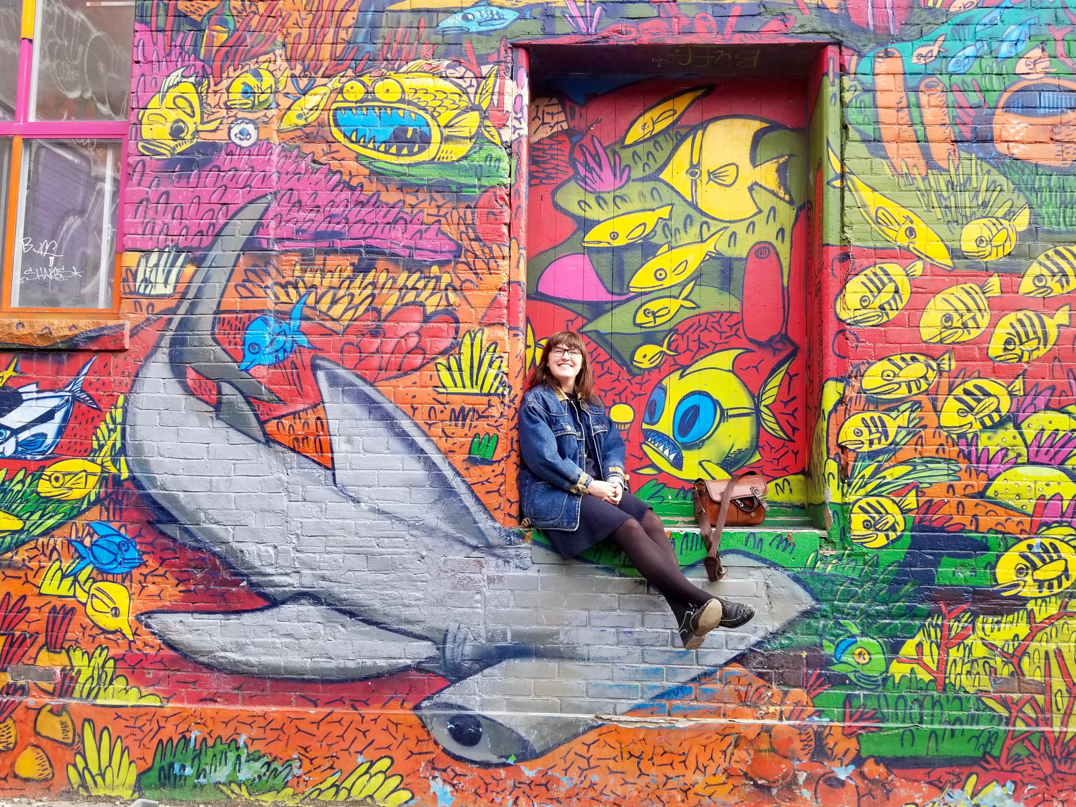 Graffiti Alley Toronto Ontario Canada