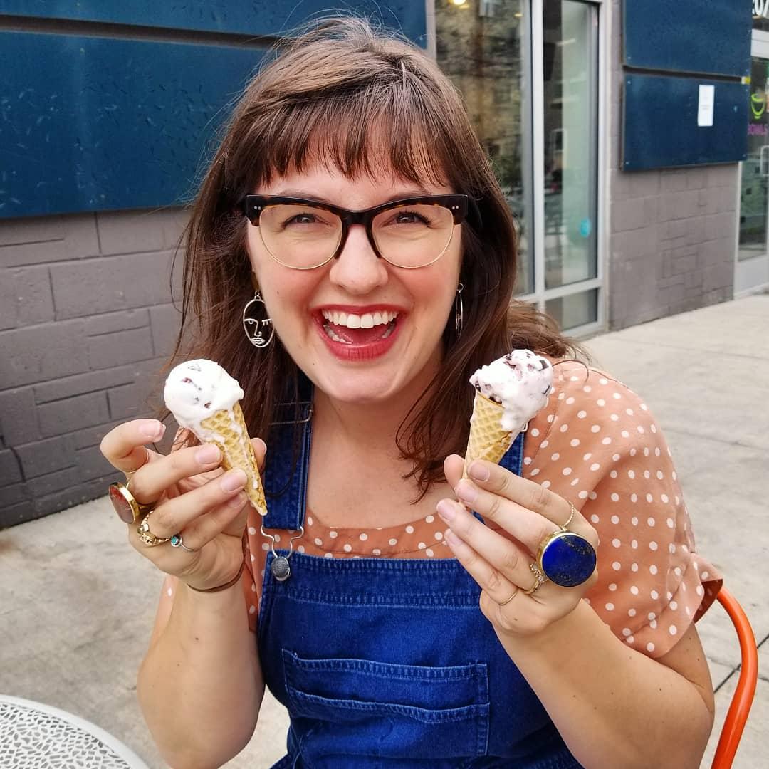 Purple Door Ice Cream Milwaukee