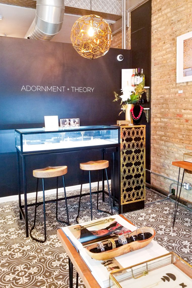 Adornment + Theory Boutique Logan Square Chicago Illinois uSA