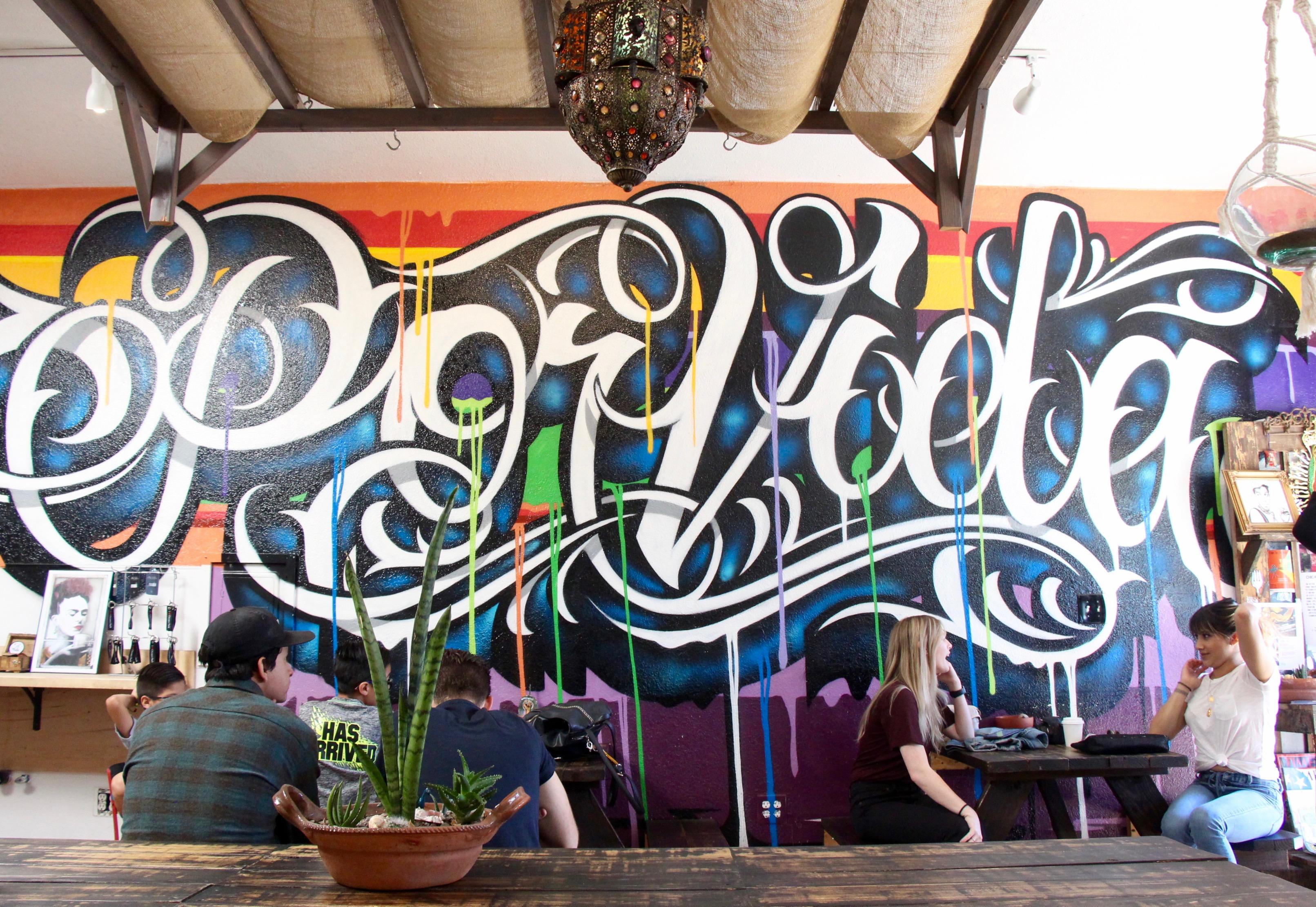 Por Vida Coffee Shop San Diego California