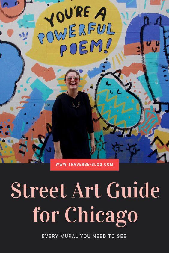 street art guide wicker park chicago pinterest image