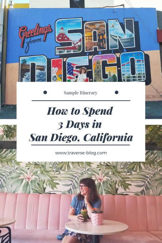 3 days in san diego pinterest image 1