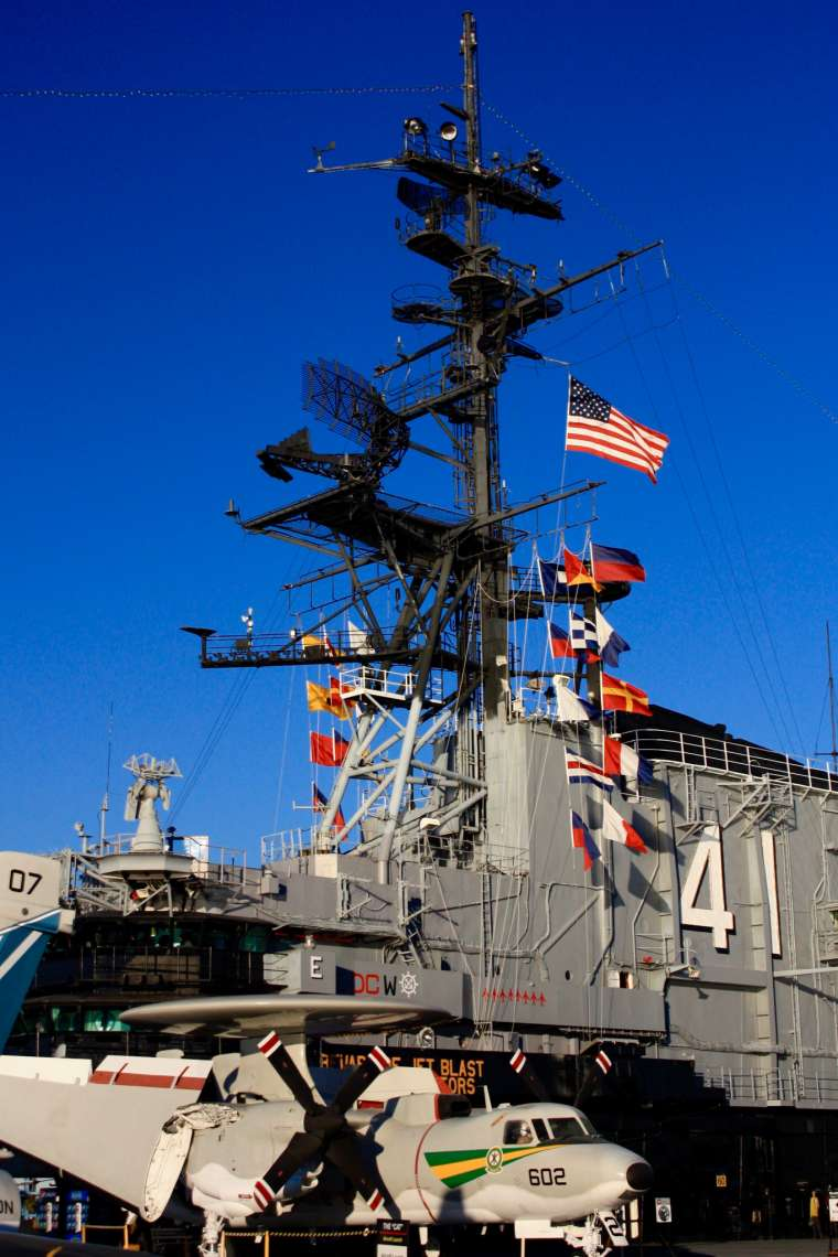 USS Midway Museum San Diego California