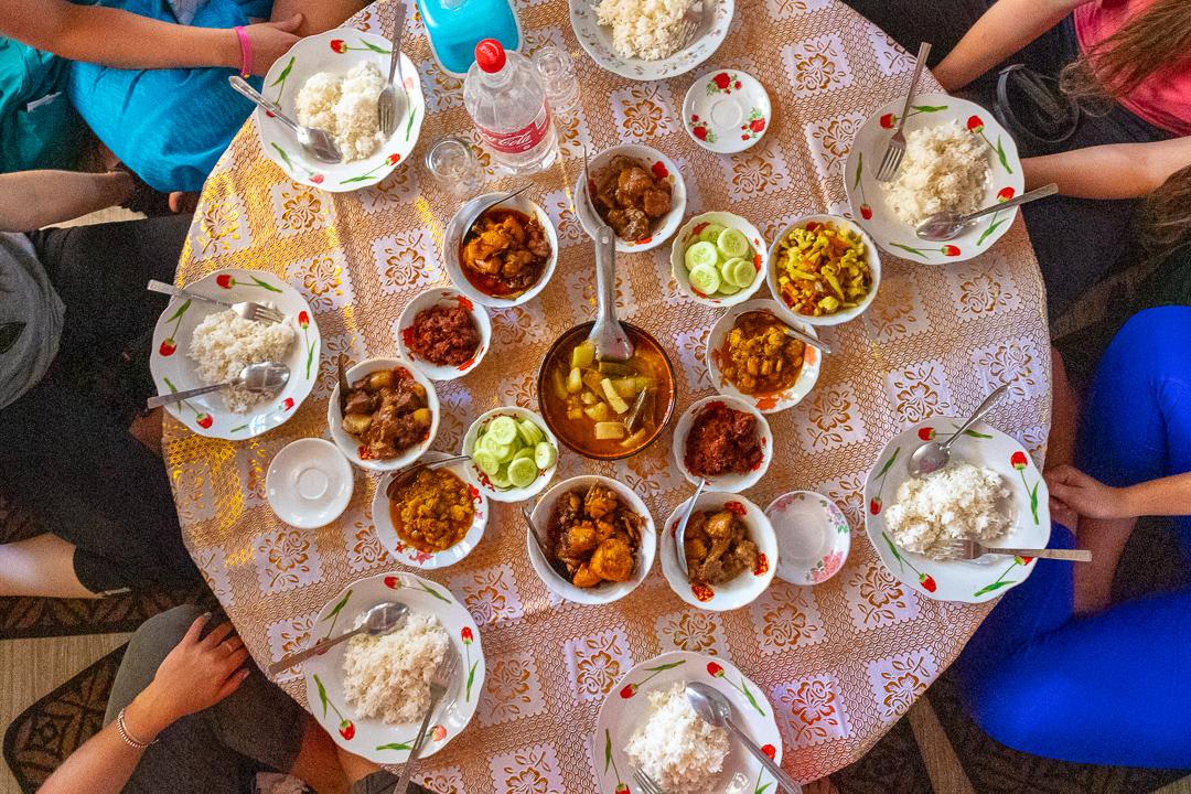 Food Flatlat Yangon Myanmar