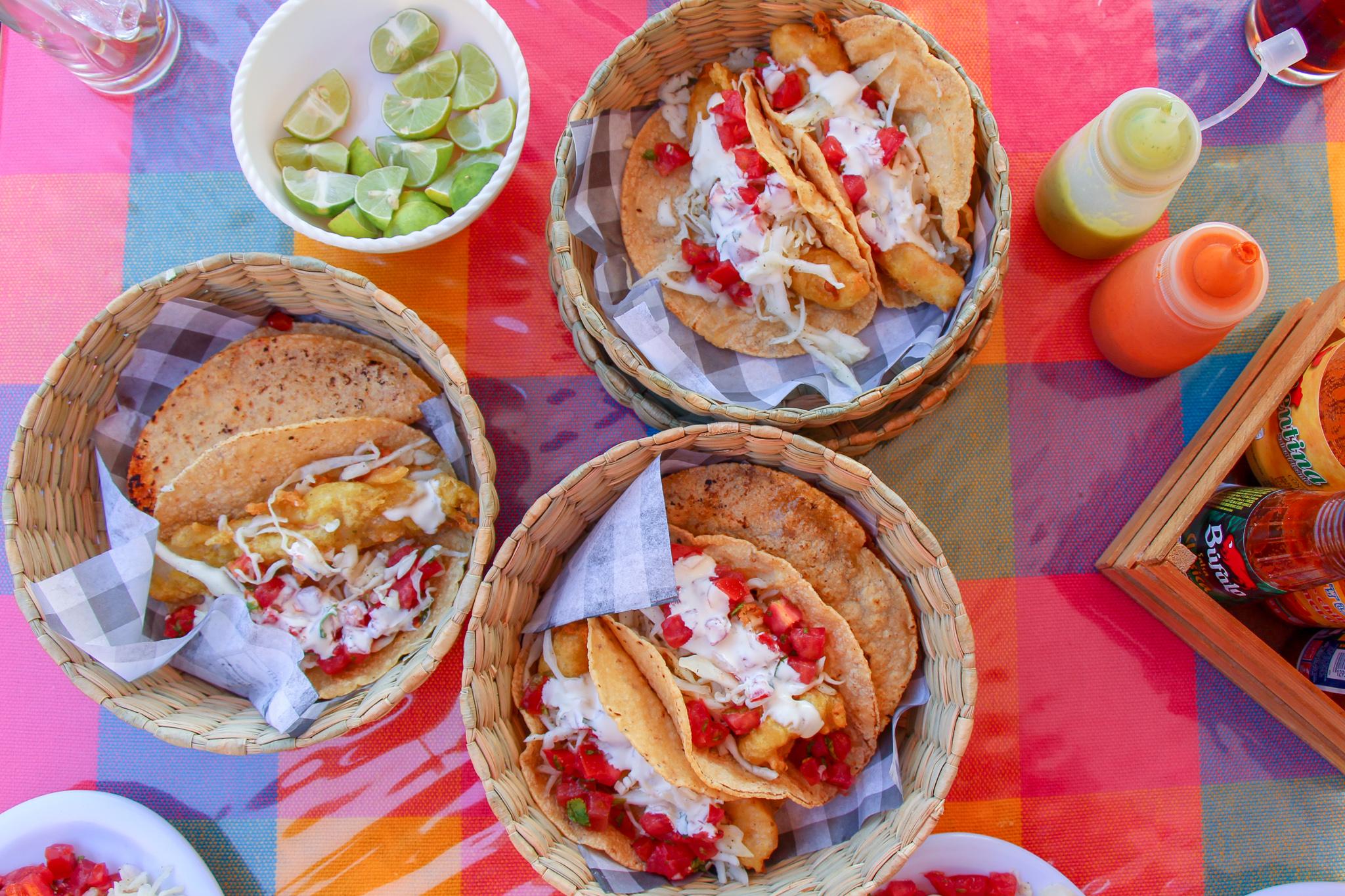 Fish Tacos San Miguel de Allende Mexico