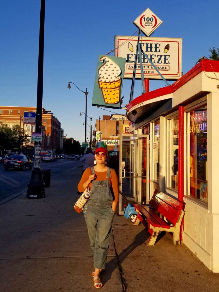 Tastee Freeze Ice Cream Shop Chicago Illinois USA