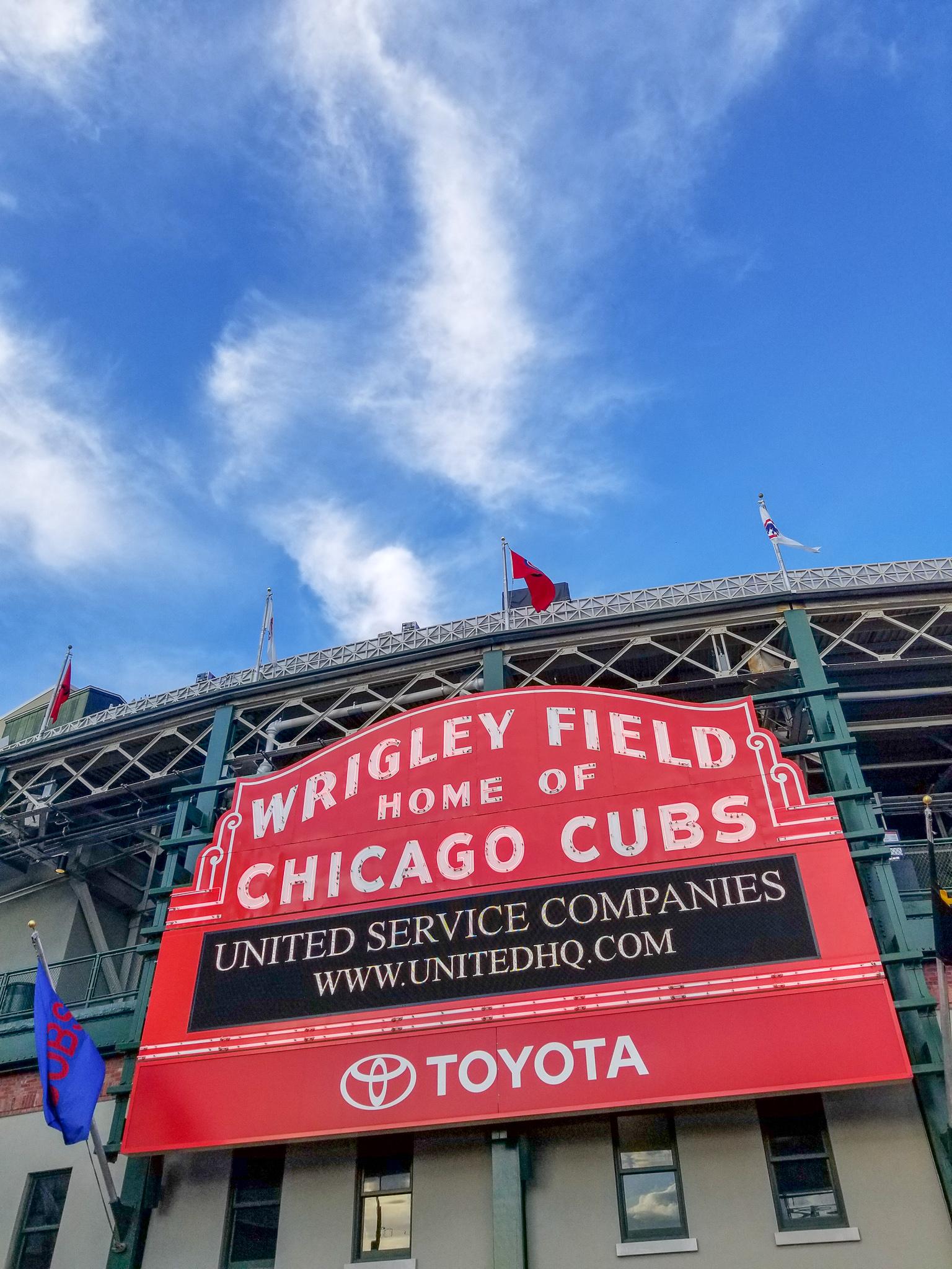 Wrigley Field Chicago Illinois