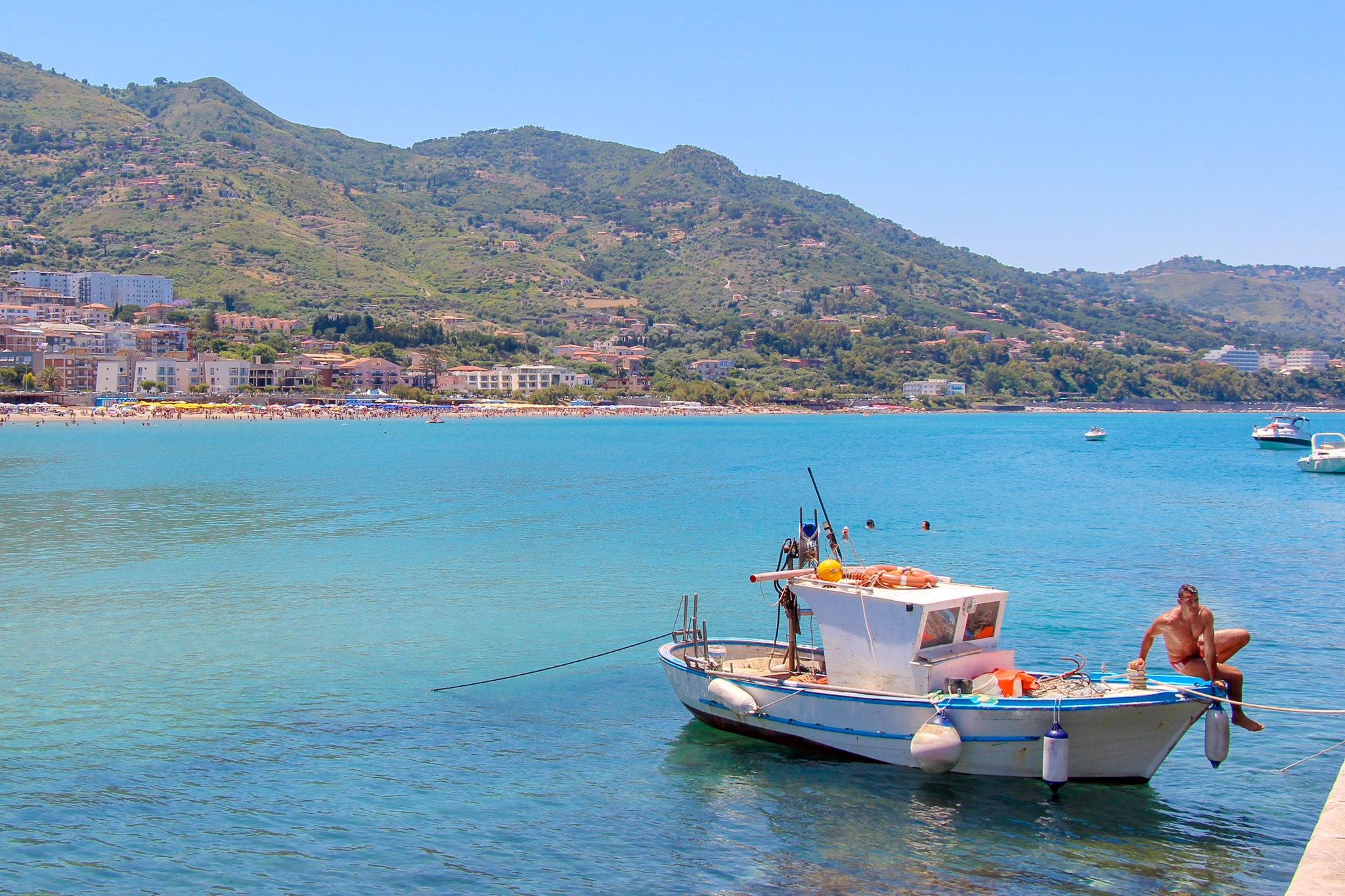 Cefalu Sicily Scenery Travel Italy
