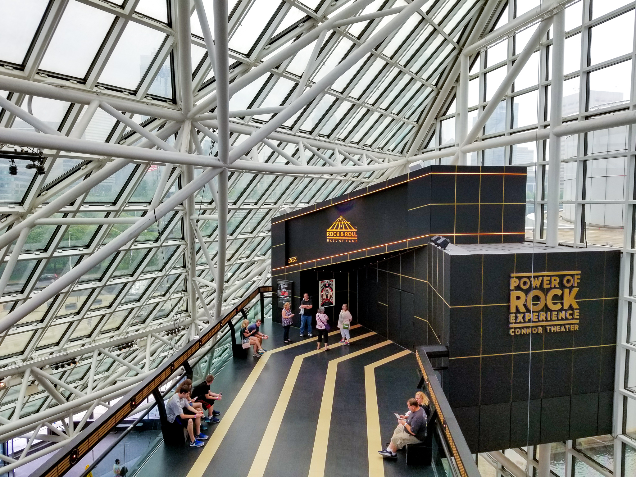 Rock and Roll Hall of Fame Cleveland Ohio