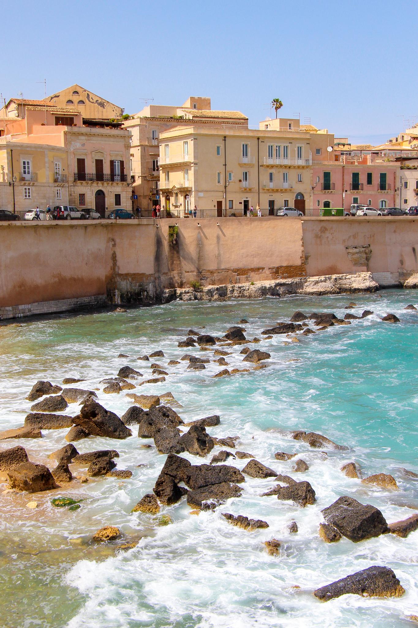Rocky Ocean View Ortigia Sicily