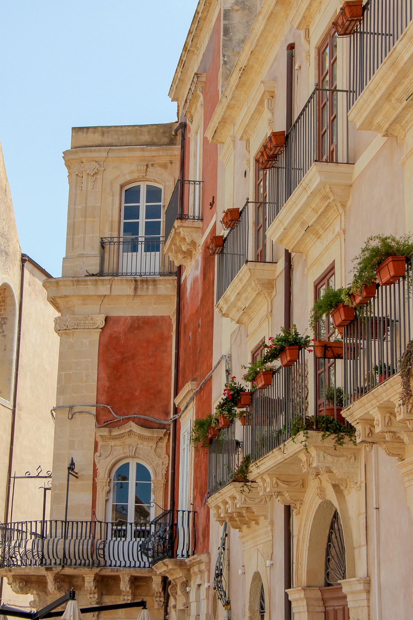 Streets of Oritigia Sicily Italy
