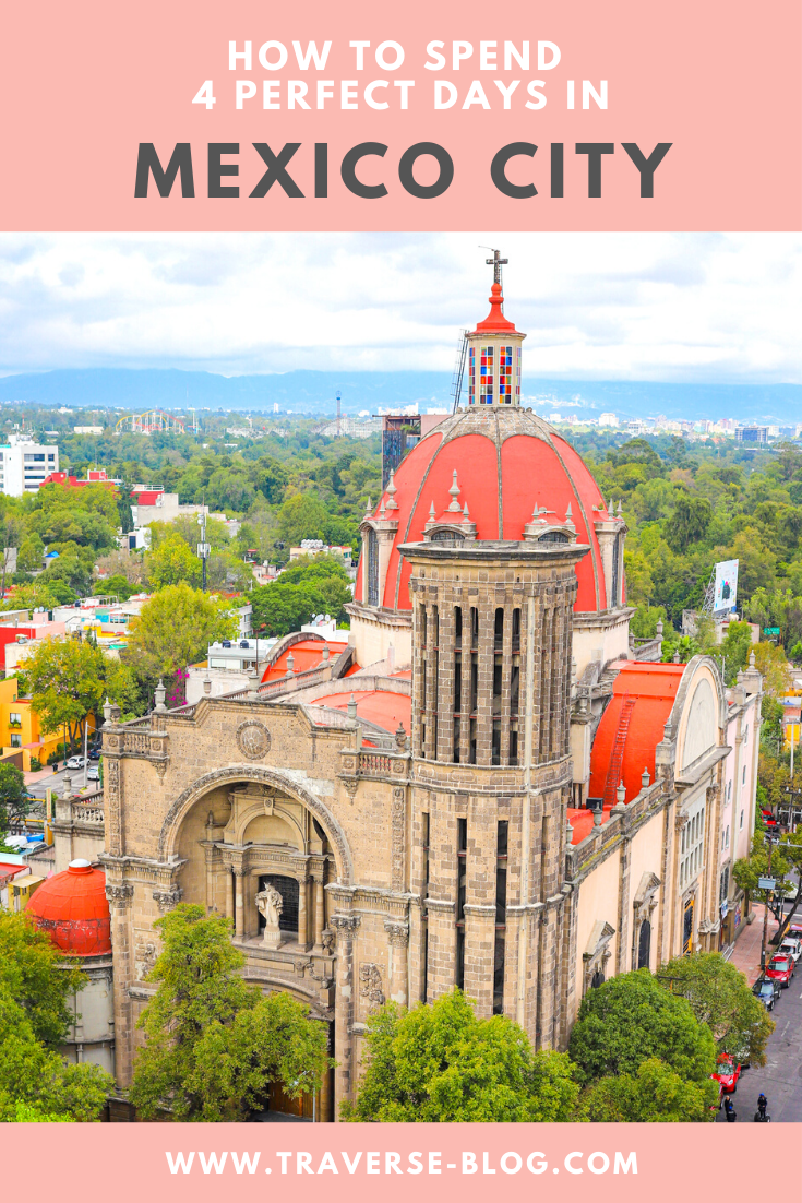 CDMX Mexico City Itinerary Pinterest Image
