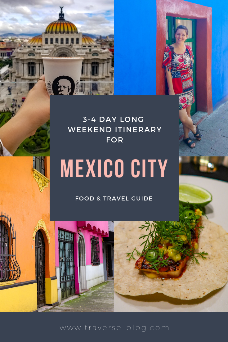 Long Weekend CDMX Pinterest Image