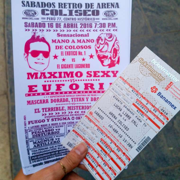Lucha Libre Tickets Mexico City CDMX