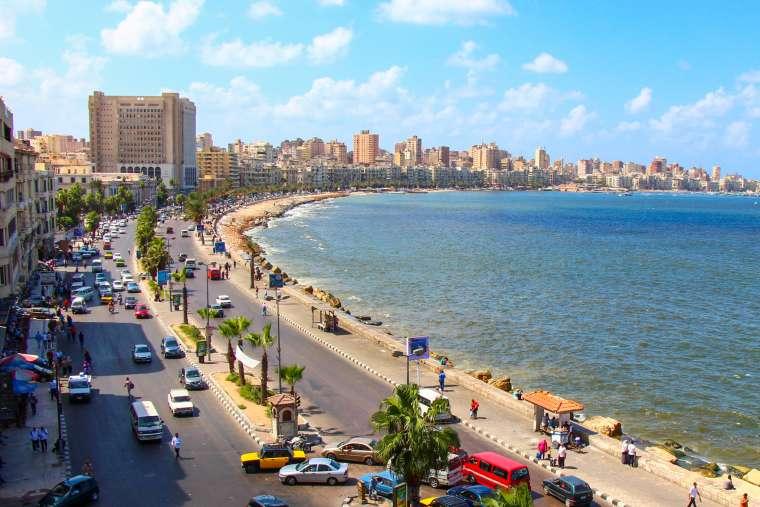Waterfront Cornish in Alexandria Egypt