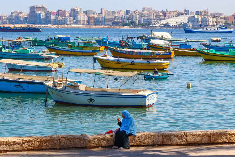 Waterfront Cornish in Alexandria Egypt