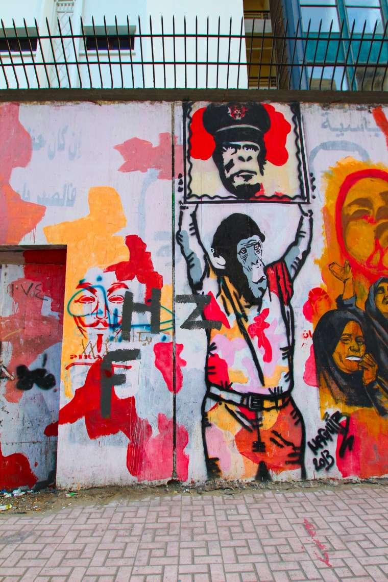 Cairo Egypt Political Street Art
